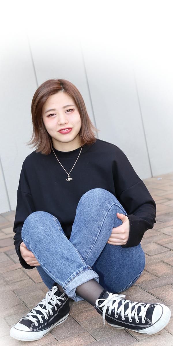思いやりがあり、気遣いの出来る 日ノ原佳菜さん(21才)2017年1月